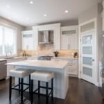 Breakfast in this cozy kitchen!