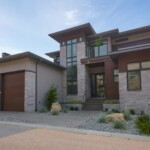 Modern Home Exterior Elevation