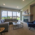 Kestrel Ridge – Show Home Basement Living Room