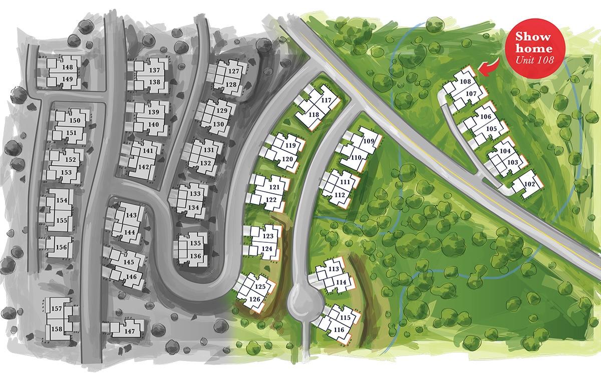 Kestrel Ridge Site Plan v4