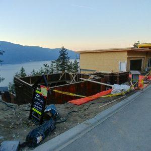 McKinley Beach - Lot 5's Foundation is Prepared! (2)