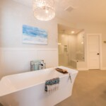 Freestanding Tub and Walk-In Shower