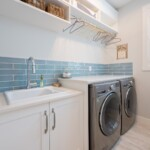 A Bright Cheery Laundry Room