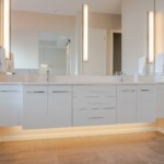 Floating Master Bathroom Counter