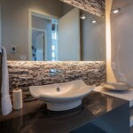 Wilden Bathroom With Beautiful Rock Wall