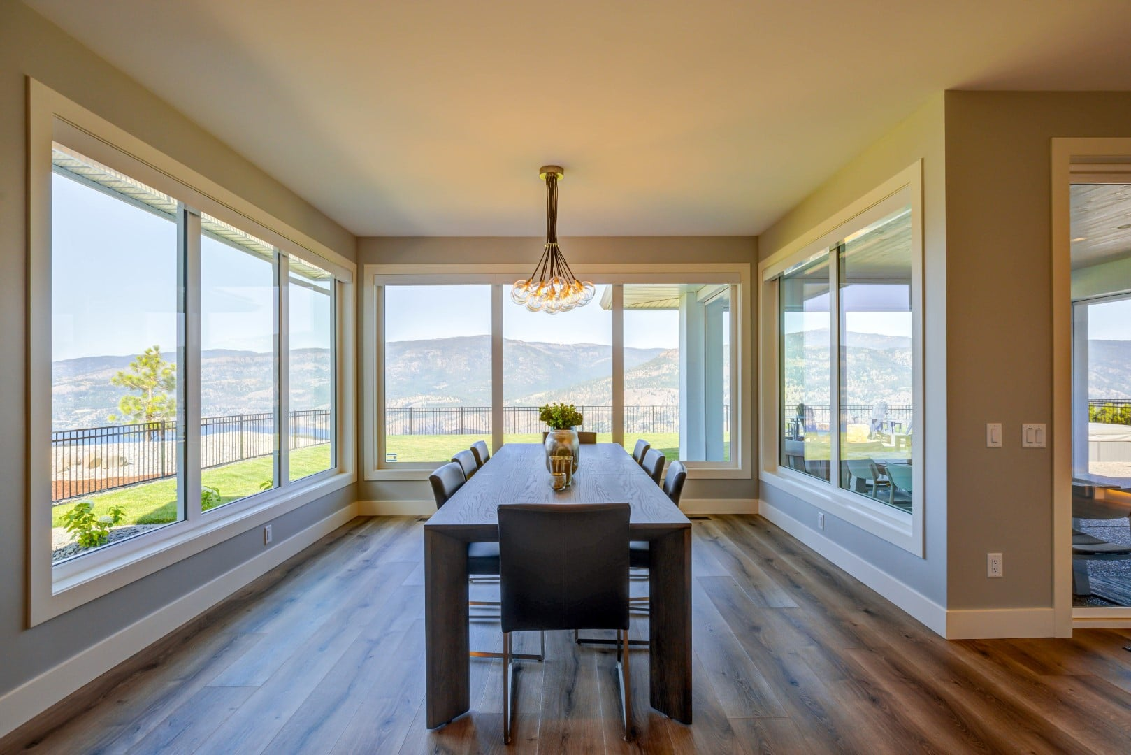 Austin & Andrea, Lot 71 (5), Mountain view dining rooms