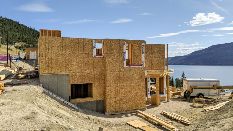 McKinley Beach Lot 30S3, Roof Trusses Next