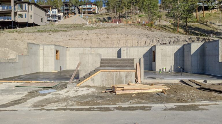 McKinley Beach Lot50S2, Foundation Done