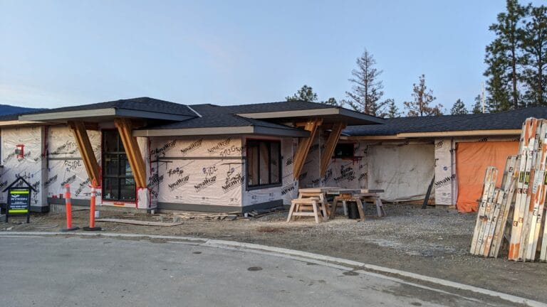 McKinley Beach Lot9, Siding Wrap Completed
