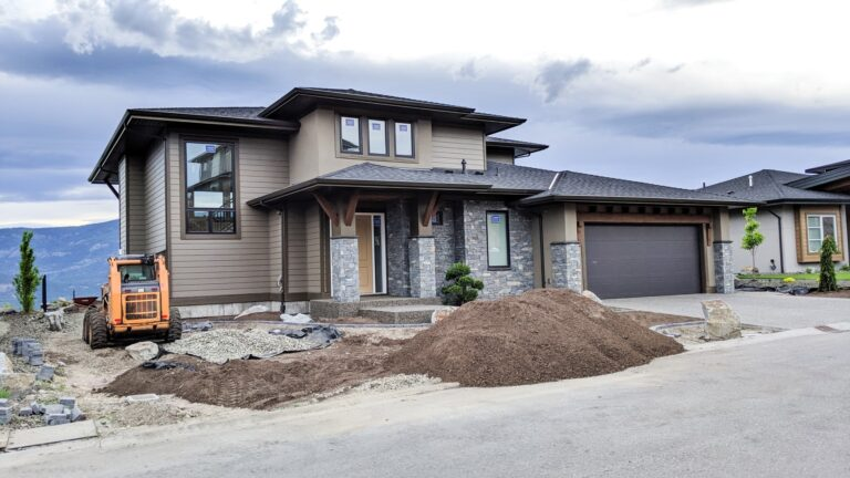 Rocky Point Lot 24, Landscaping Continues