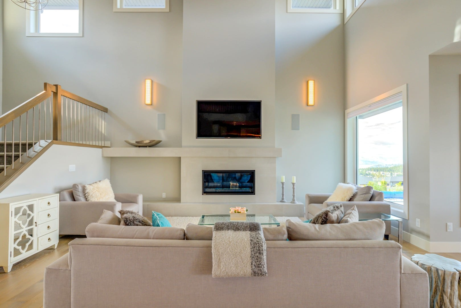 Rocky Point Wilden, Lozinski (3), Clean Fireplace Design