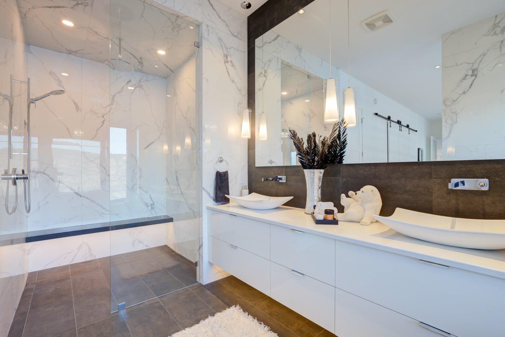 Wilden Purkis Lot84 (35), Tiled bathroom, floor to ceiling