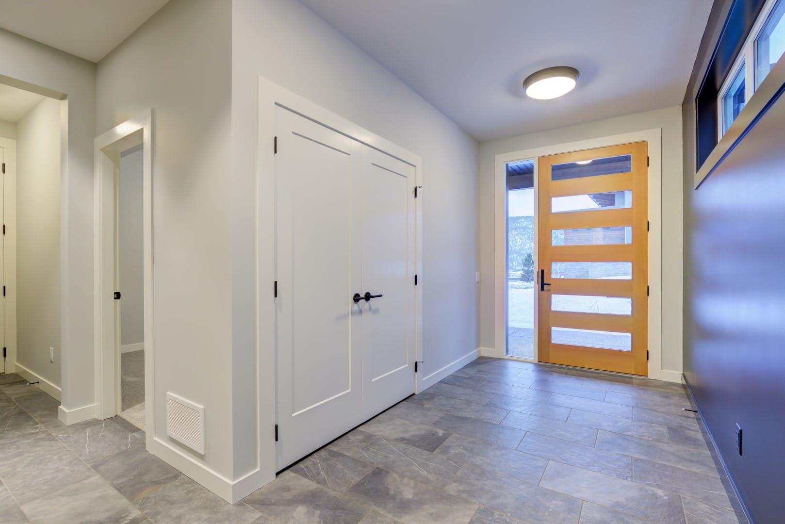 McKinley Beach Lot 7 - Entry way, Custom Doors