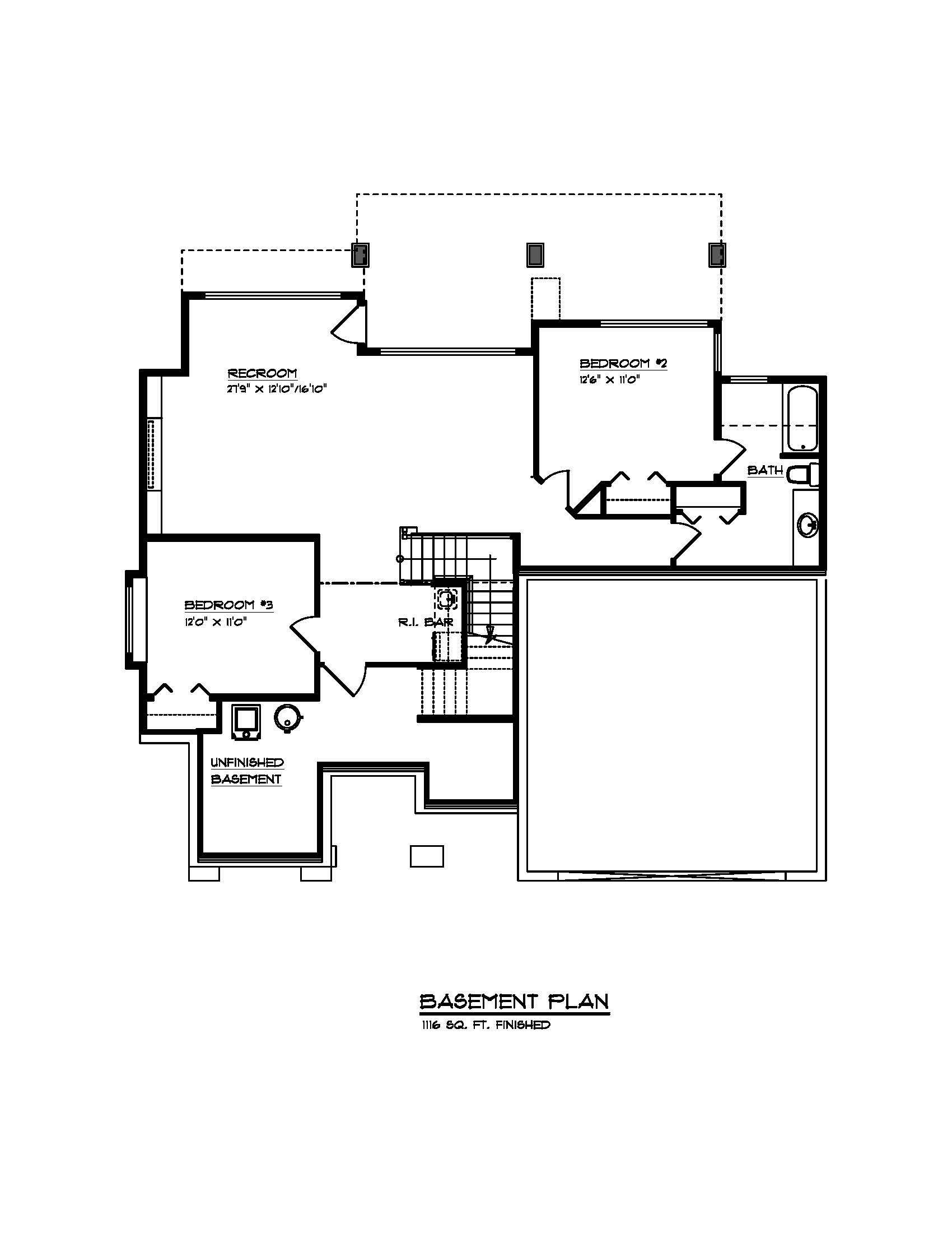 The Auburn - Custom Home Floor Plan 2