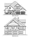 The Arbor - Custom Home Floor Plan Exterior