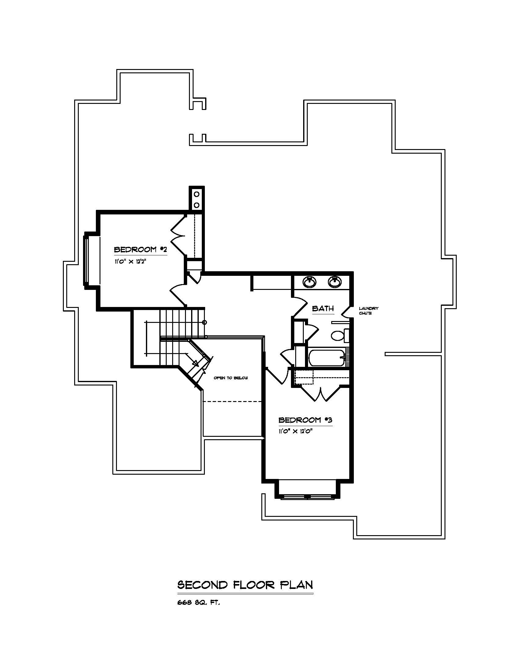 The Arbor - Custom Home Floor Plan 3