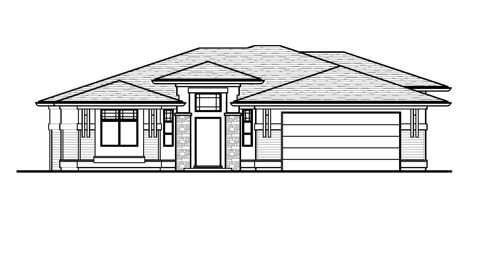 The Argyle - Custom Home Floor Plan 1