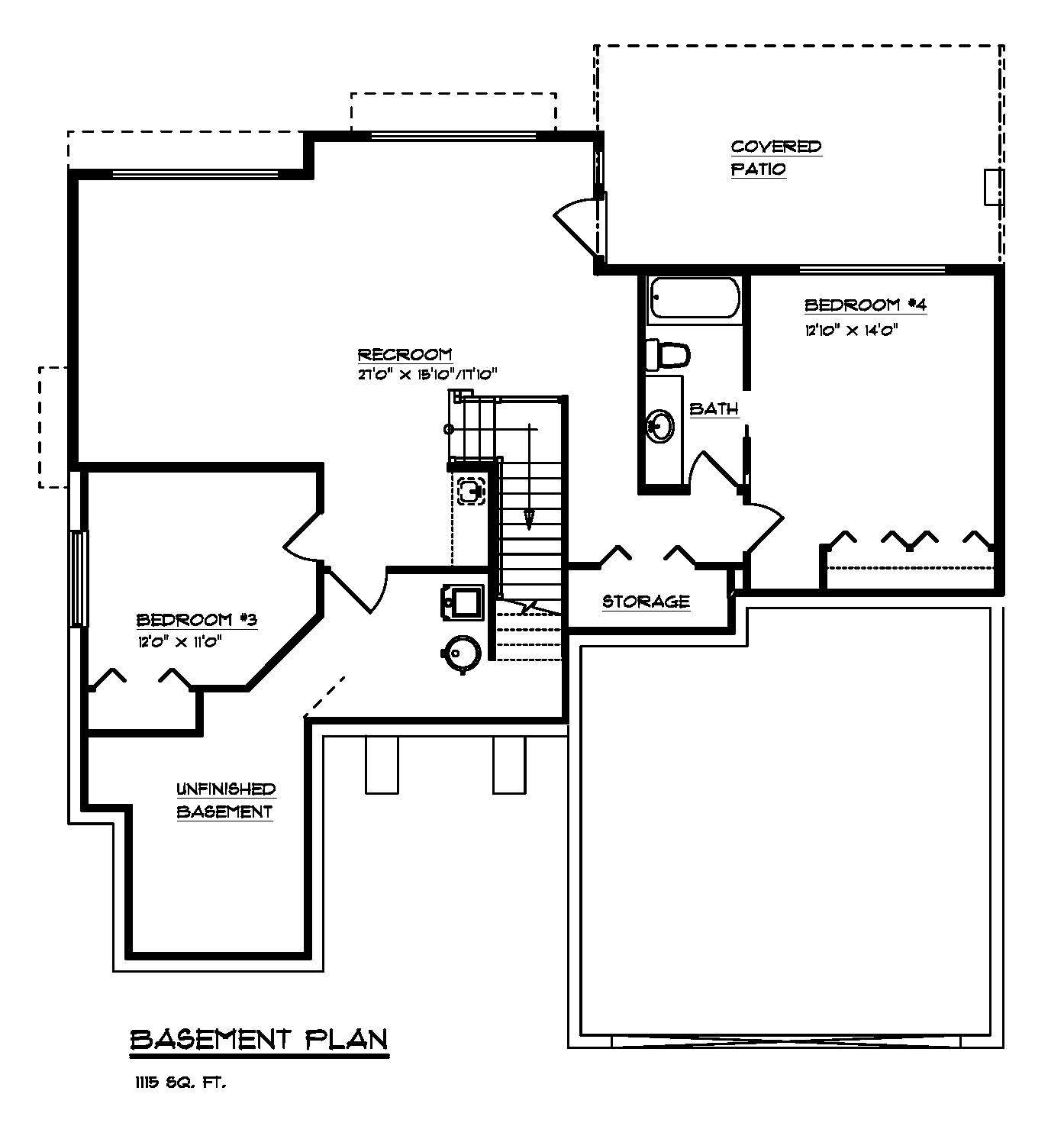 The Argyle - Custom Home Floor Plan 2