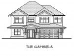 The Cambie - Custom Home Floor Plan 1