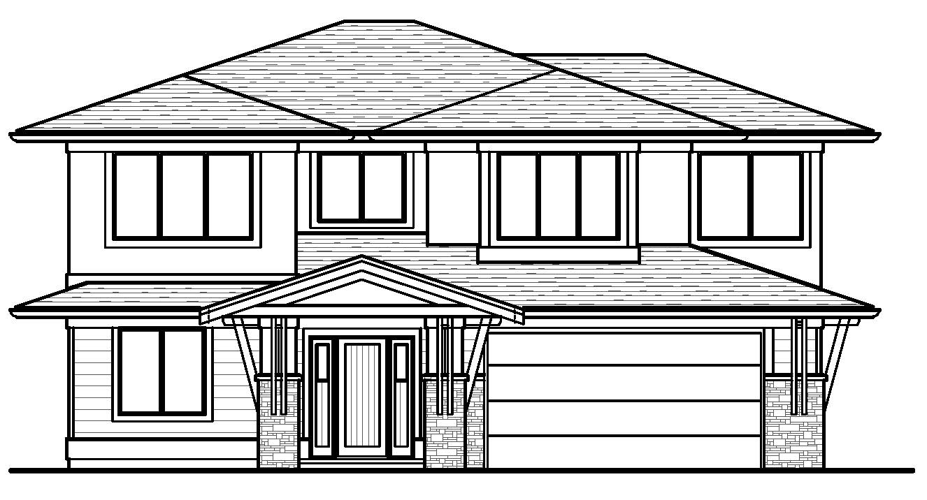 The Cambie - Custom Home Floor Plan 2
