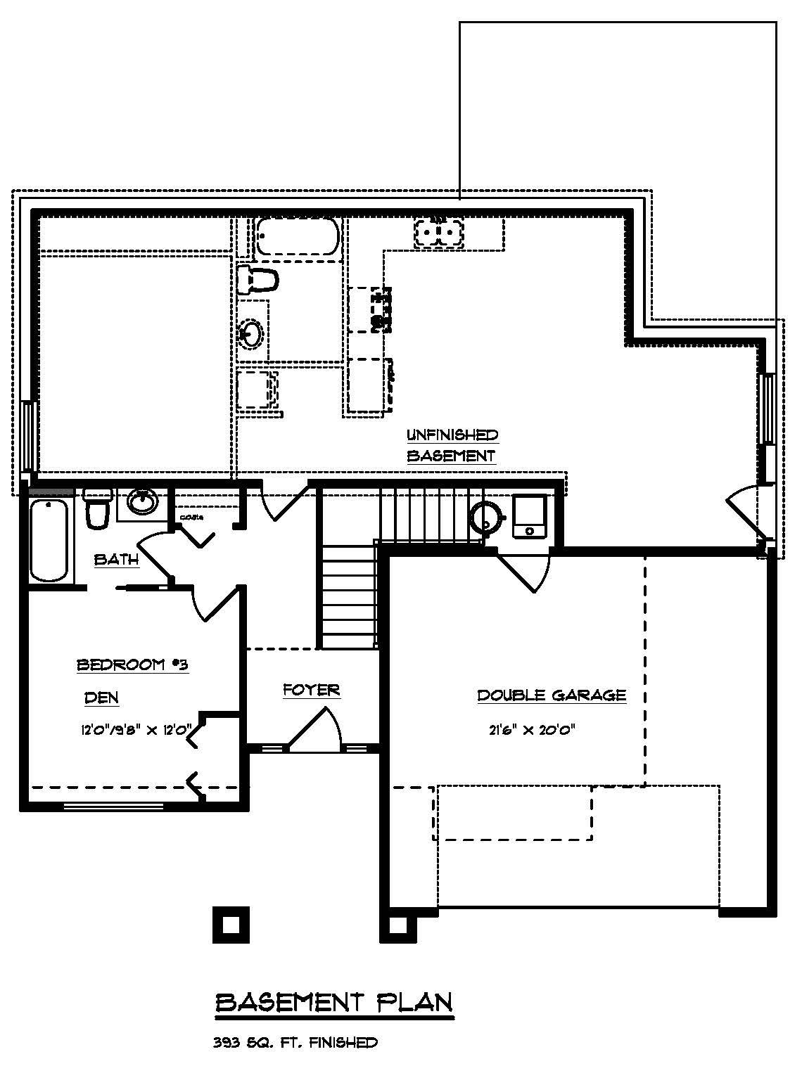 The Cambie - Custom Home Floor Plan 3