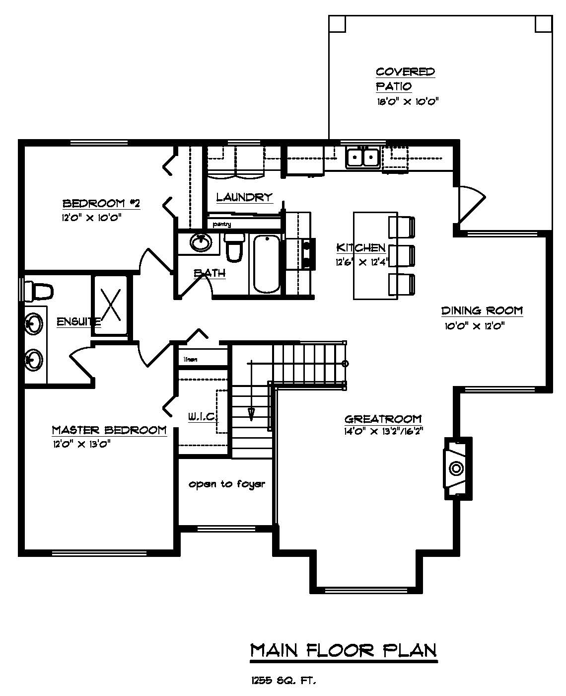 The Cambie - Custom Home Floor Plan 4