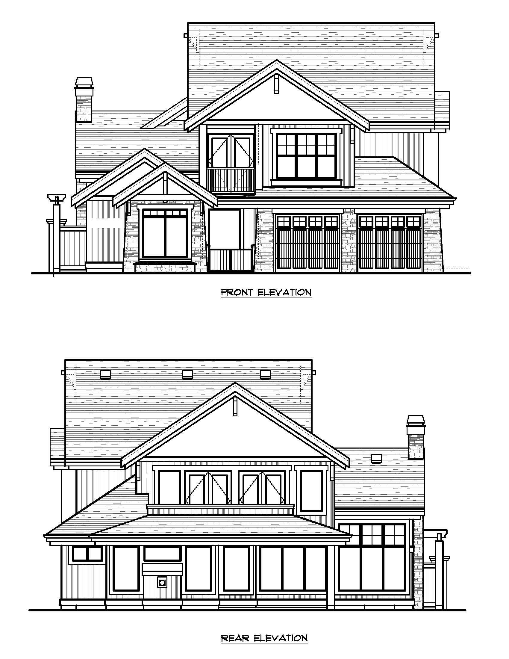 The Cordova - Custom Home Floor Plan 1