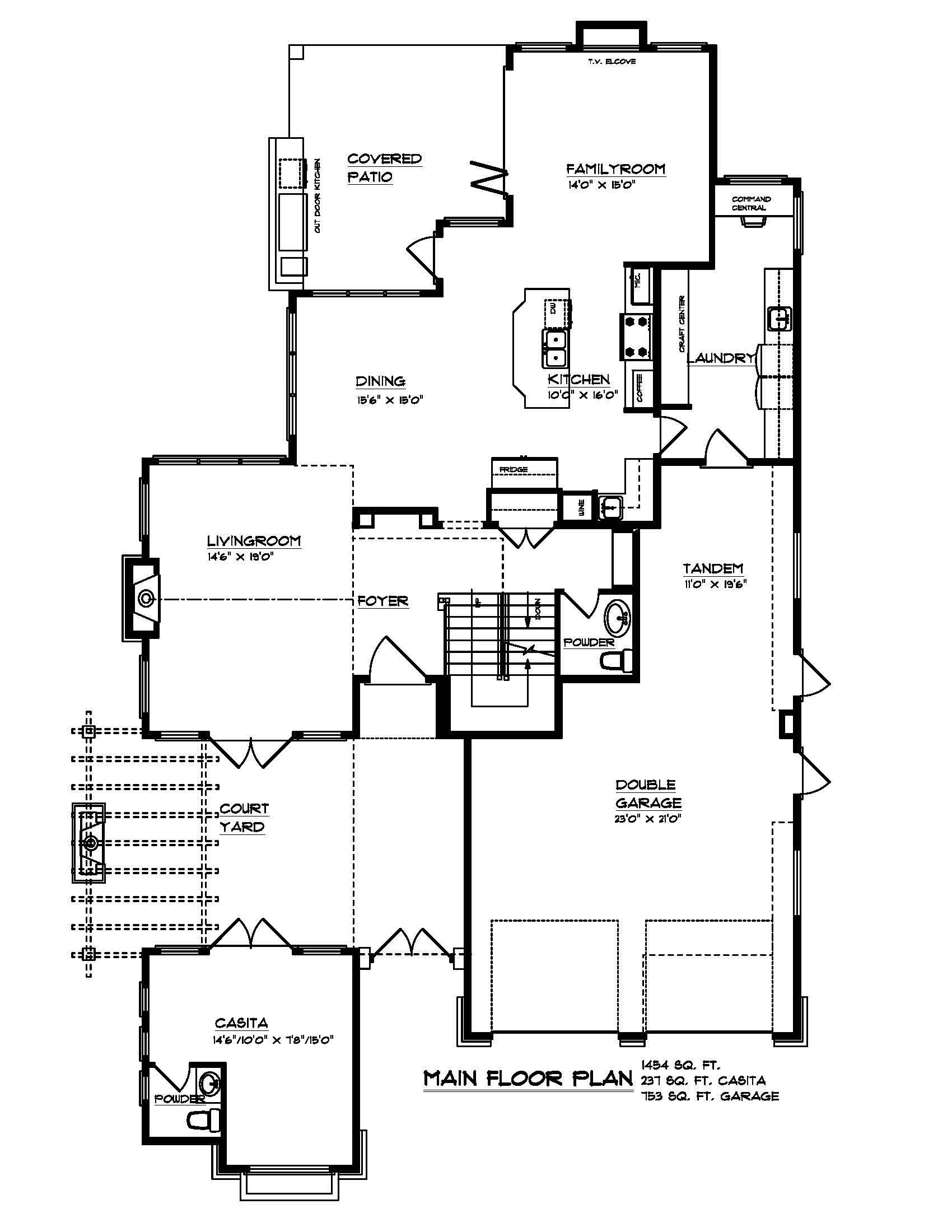 The Cordova - Custom Home Floor Plan 2