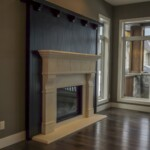 The Lynwood Living Room Fireplace