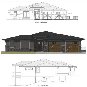 The Kino - Custom Home Floor Plan 1