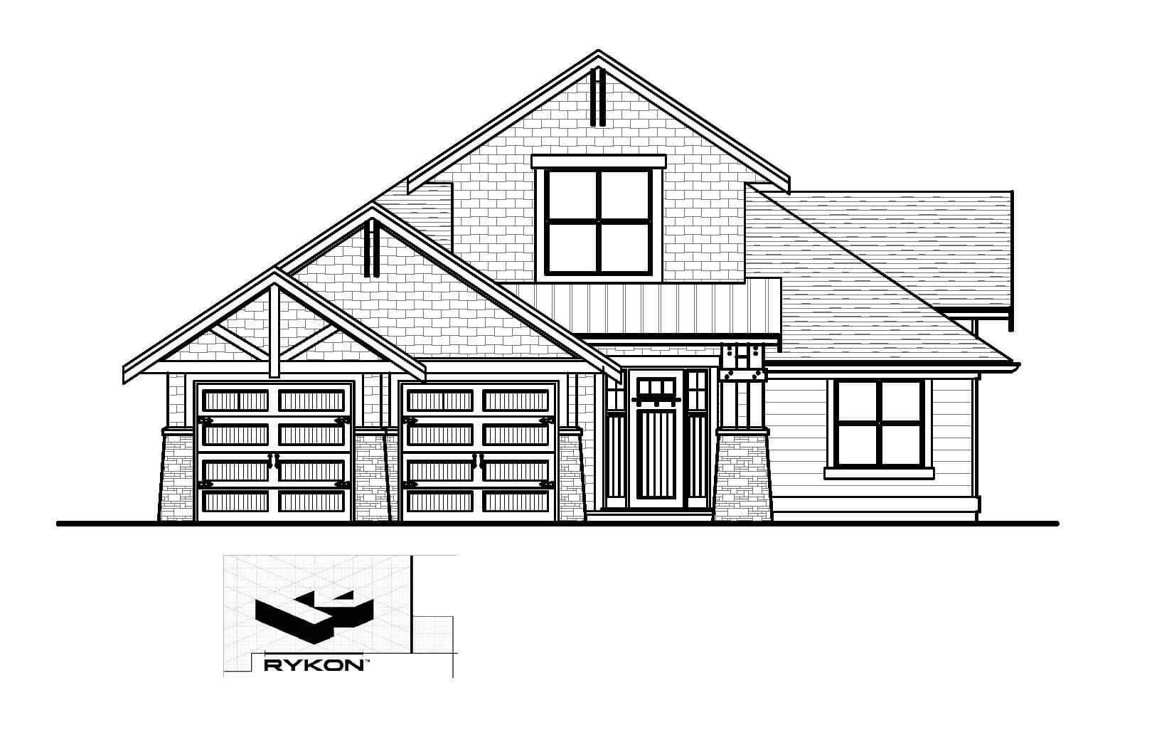 Little Rock - Custom Home Floor Plan 1