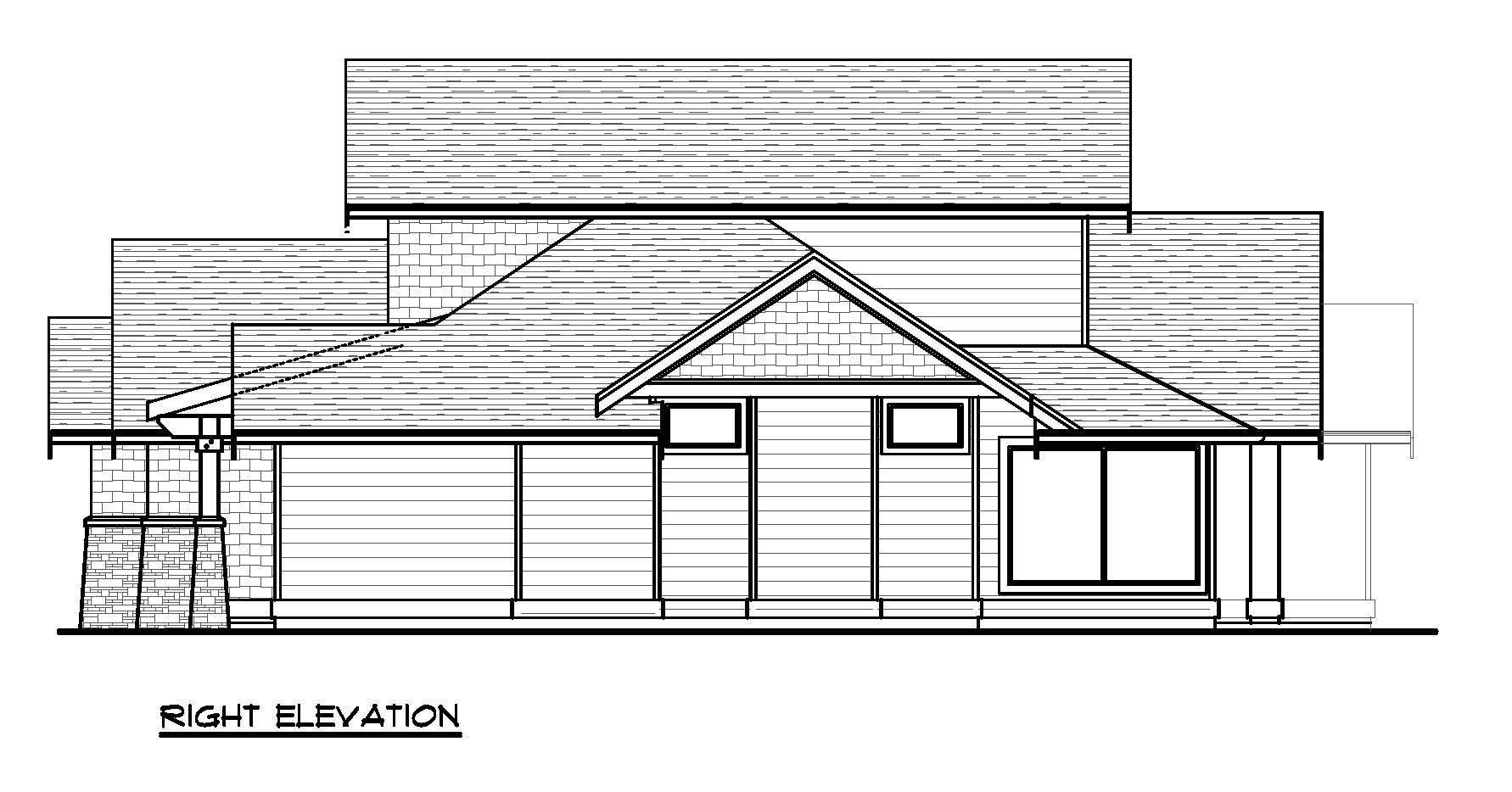 Little Rock - Custom Home Floor Plan 2