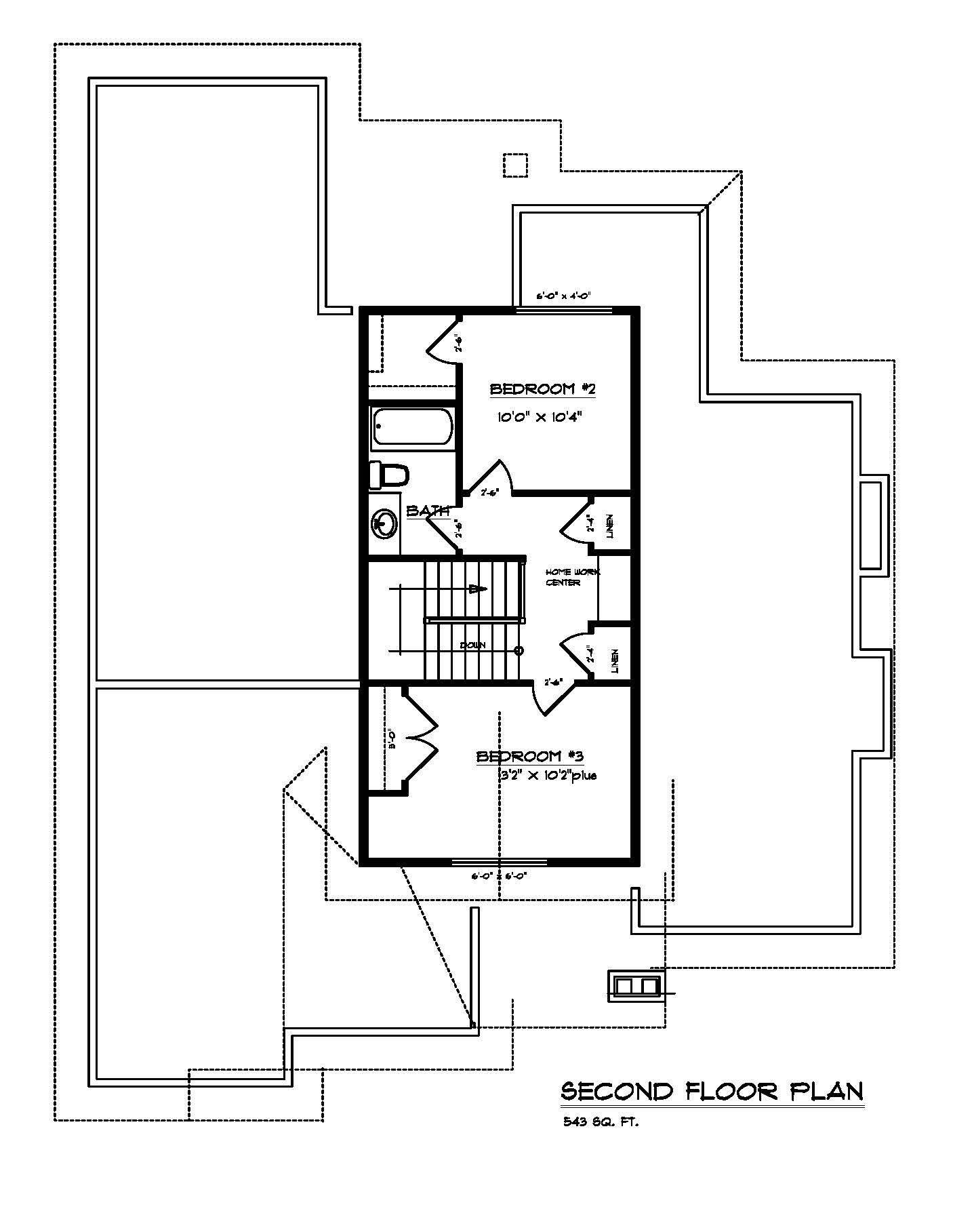 Little Rock - Custom Home Floor Plan 4