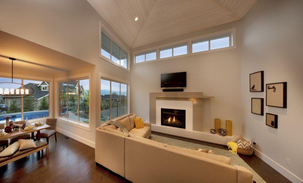 Rykon Wilden Show Home - Living Room