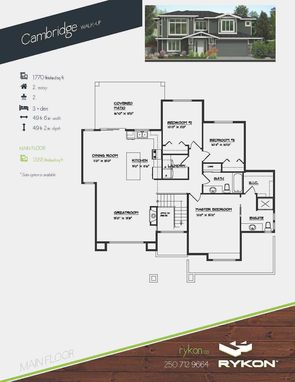 MRH - Cambridge Page 1 Floorplan
