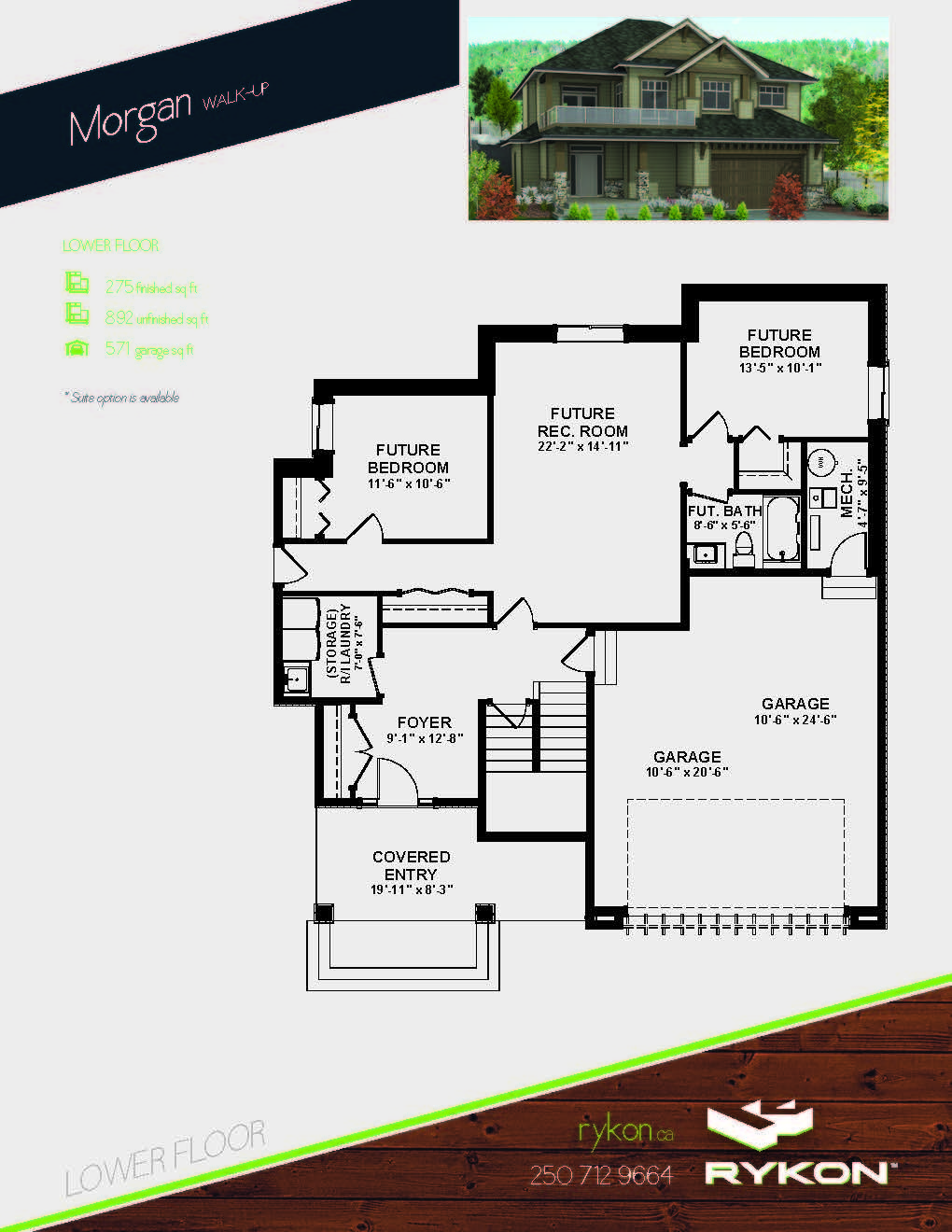 MRH - Morgan Page 2 Floorplan