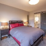 The Princeton – Master Bedroom with Bathroom