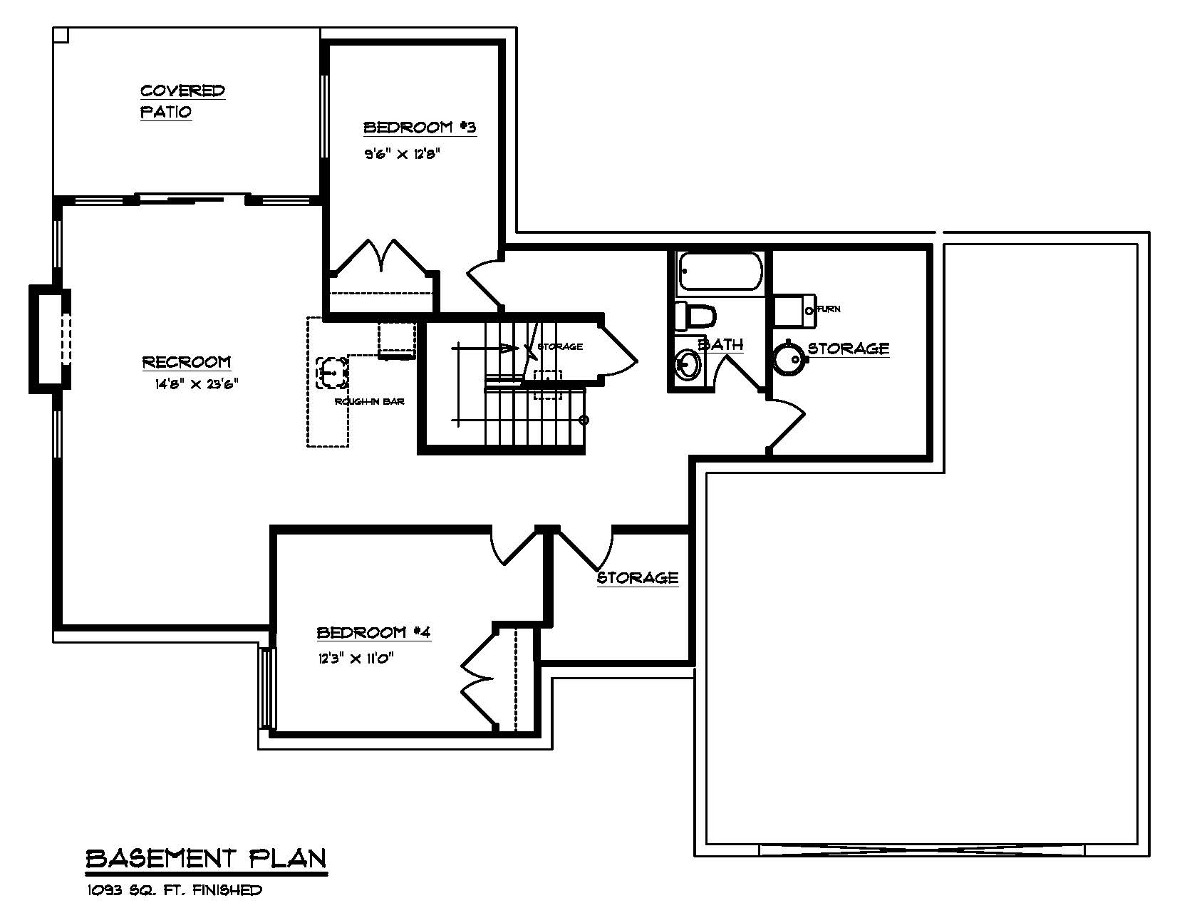 The Maplewood - Custom Home Floor Plan 3