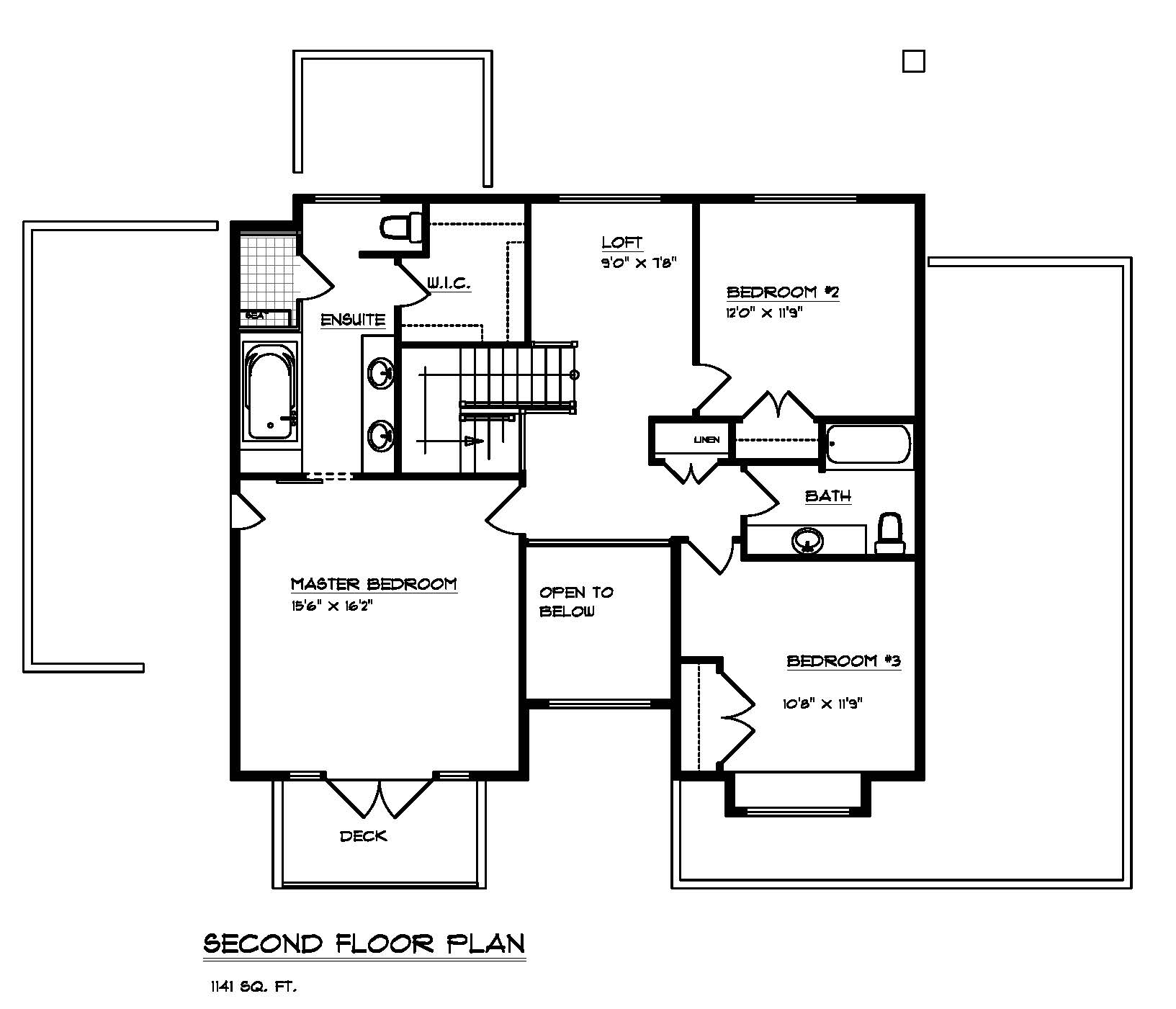 The Maplewood - Custom Home Floor Plan 4