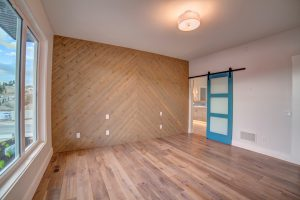 Barn Door Bathroom McKinley Beach - Show Home - Custom Home (10)
