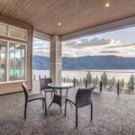 On the deck – McKinley Beach – Show Home
