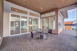 Outdoor living McKinley Beach - Show Home - Custom Home (7)