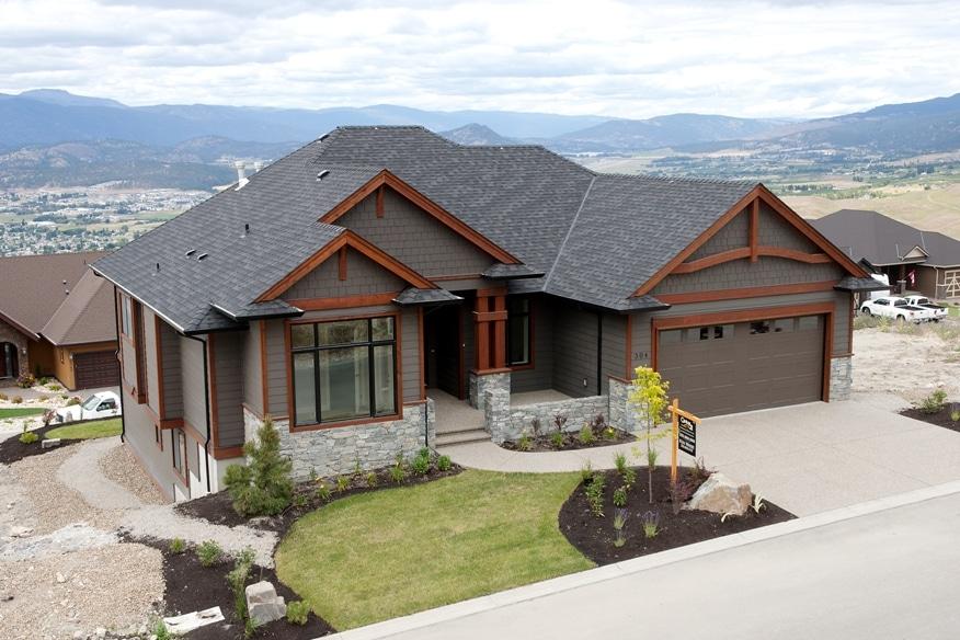 The Prestwick - Custom Home Floor Plan Exterior