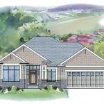 The Prestwick - Cutom Home Plans