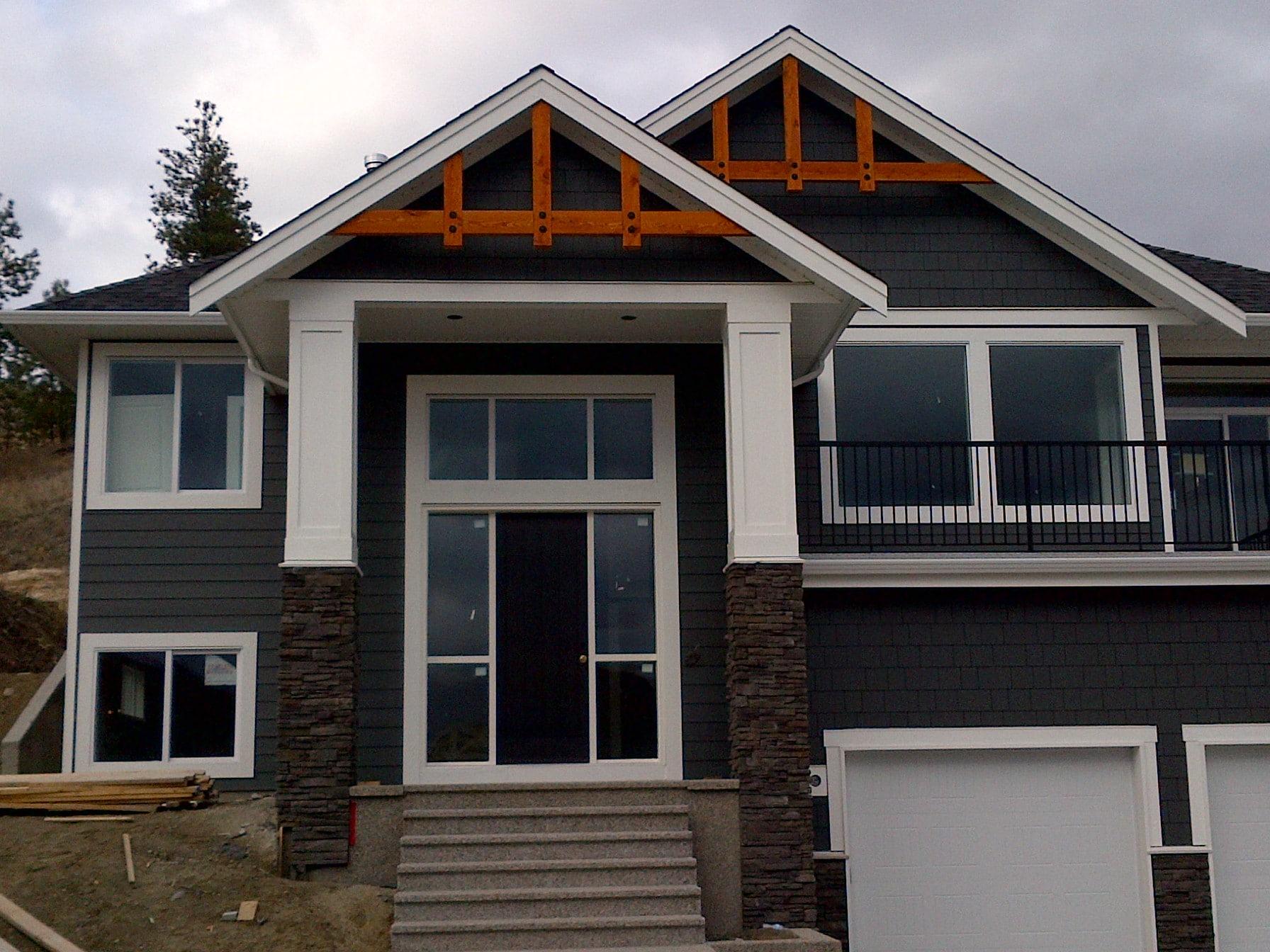 Prospects - Custom Home Floor Plan Exterior