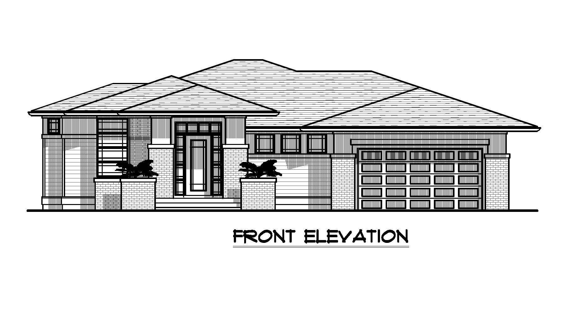The Robson - Custom Home Floor Plan 1