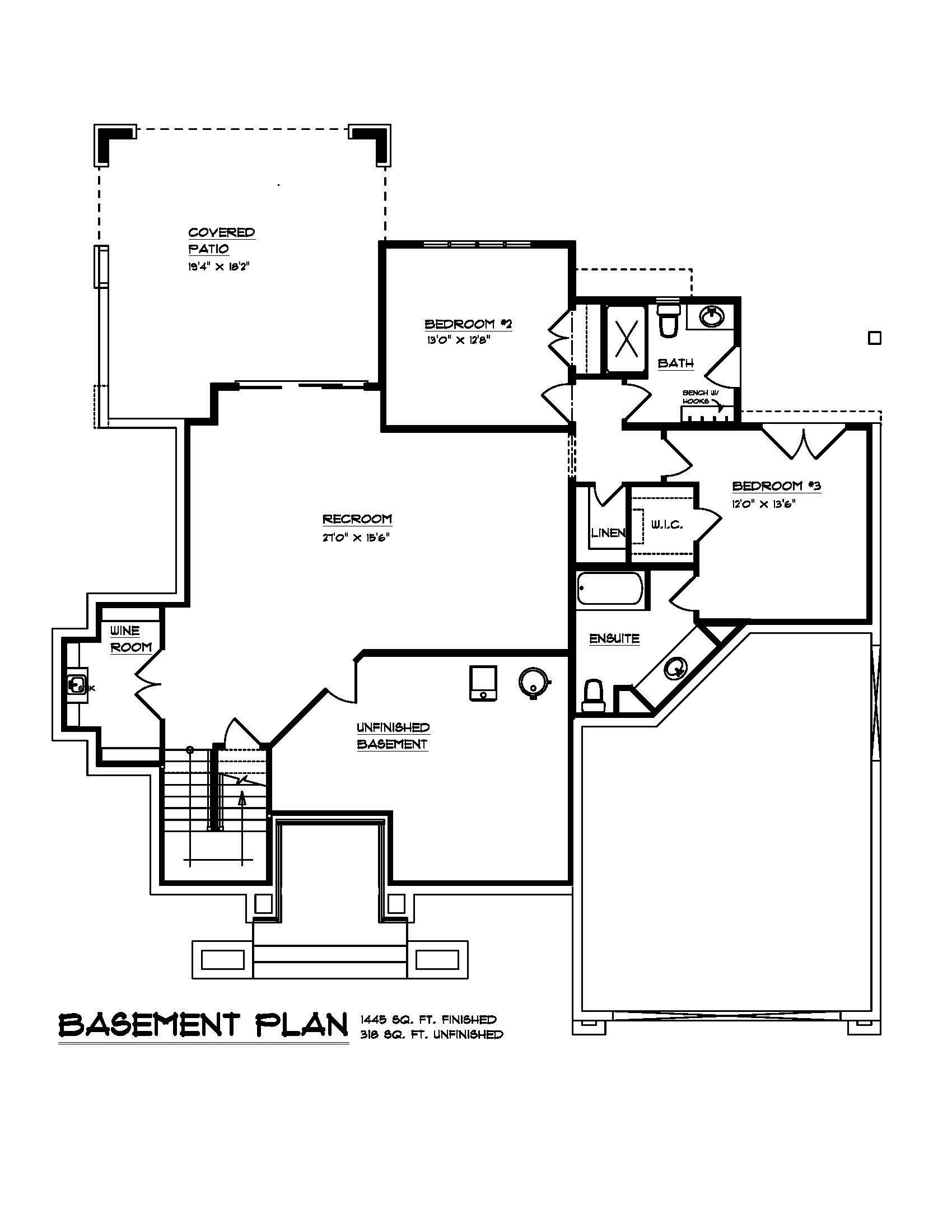 The Robson - Custom Home Floor Plan 2