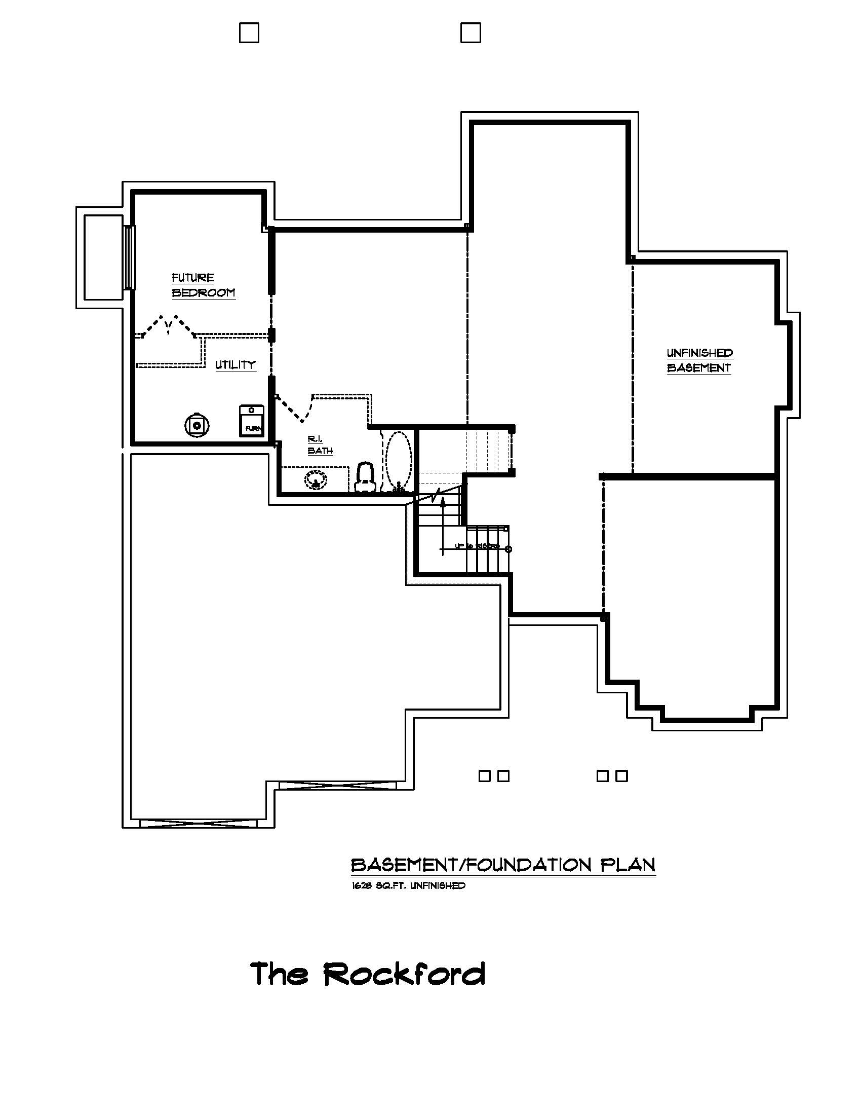 The Rockford - Custom Home Floor Plan 4