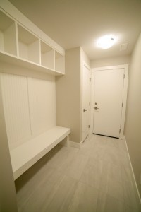 The Cambridge - Custom Home Floor Plan Garage Entry