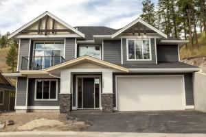 The Cambridge - Custom Home Floor Plan Exterior